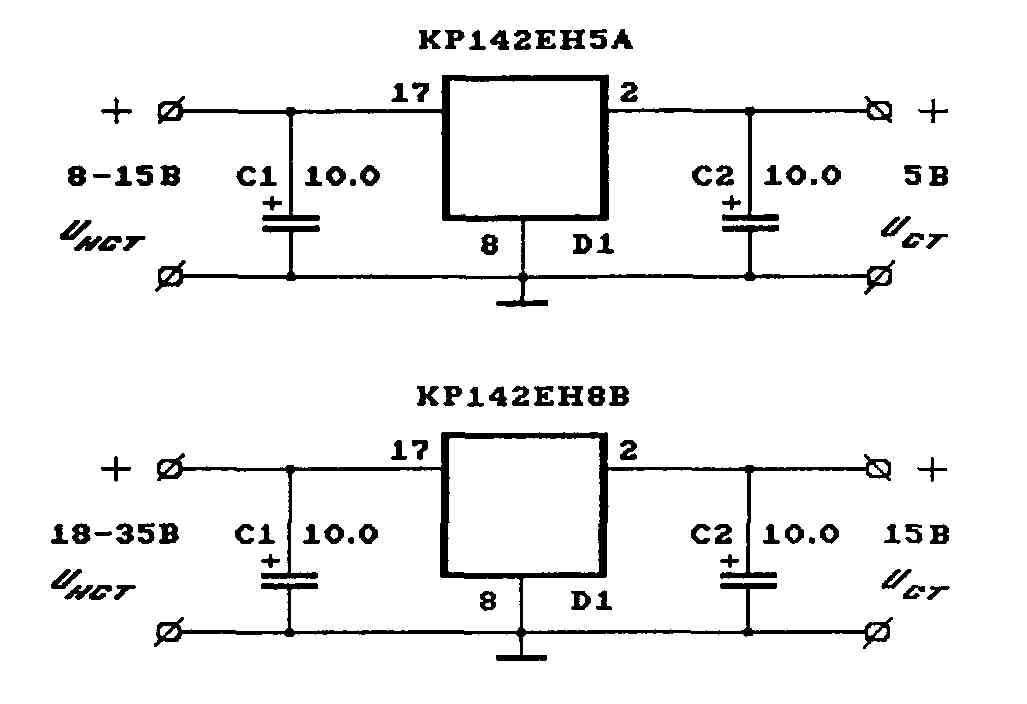 Схемы стабилизатора электромеханического однофазного